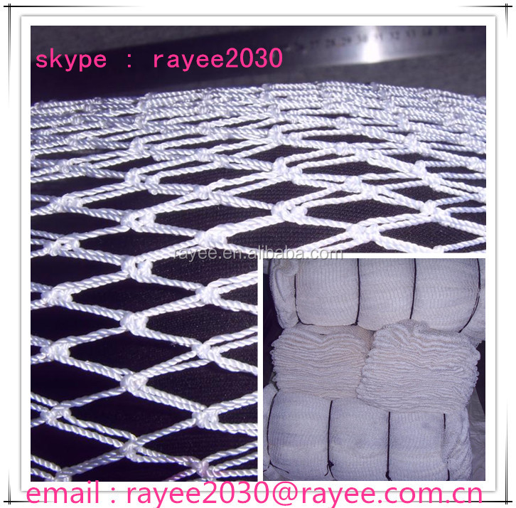 pano de rede, commecial fishing nets Japan with U knots, fishing net manufacturer