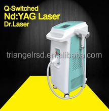 Q switch ND:Yag laser tattoo removal,pore refining machine/q switch laser