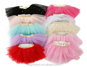 wholesale baby tutu skirts baby girls' skirts pettiskirt for kids,colorful background with small white dots polyester tutu dress