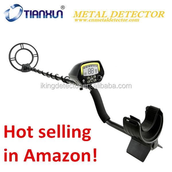 Hot in Amazon MD-3030 hobby beach underground metal detector under ground deep search gold detector