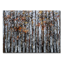Abstract Forest Artistic Impressions Paintings Export