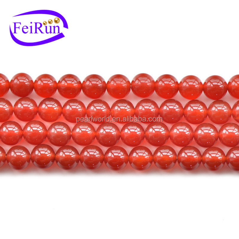 FEIRUN 4-20mm size 6A grade quality natural agate stone, agate red stone carnelian