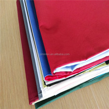 wholesale heavy 65 polyester 35 cotton twill fabric with SGS test