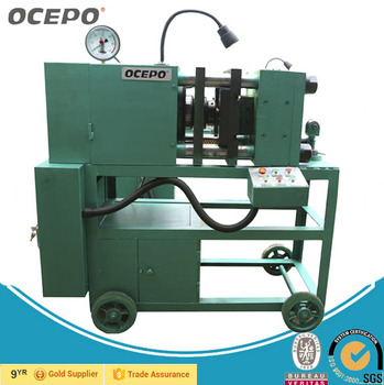 Automatic Rebar End Enlarge Cold Upsetting Swaged Machine