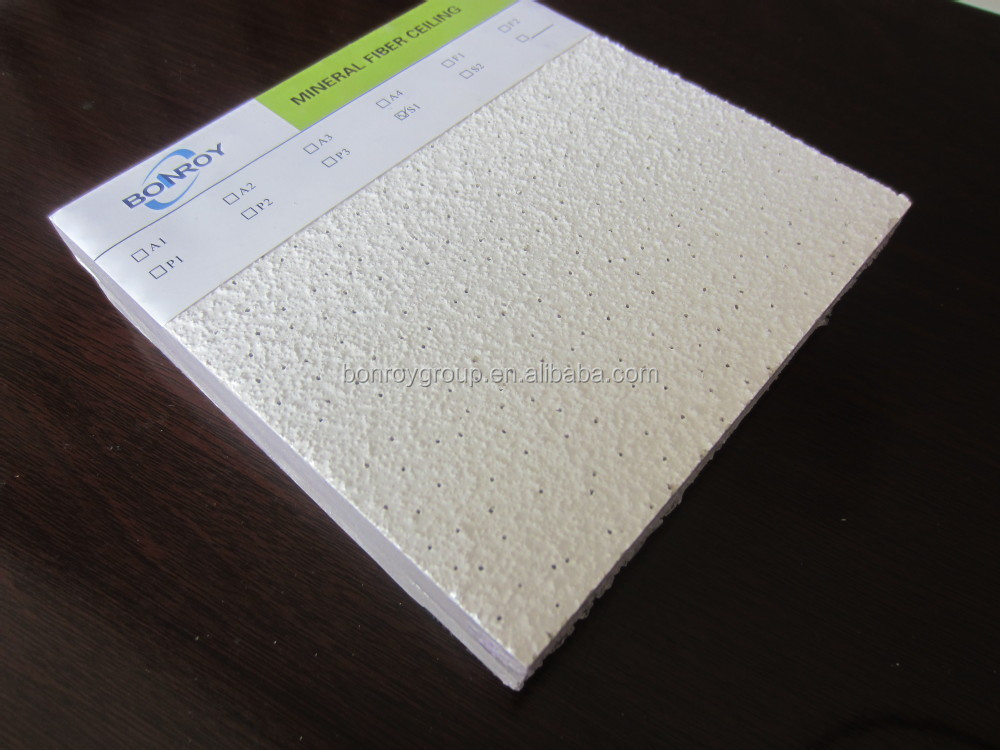 Hot Sale mineral fiber ceiling design for building