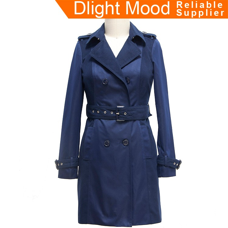 Economical custom design trench coat for sale