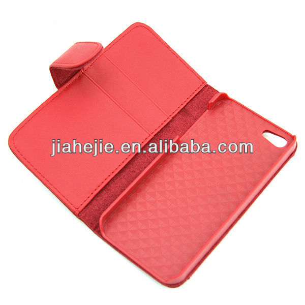 mobile phone flip case for iphone4