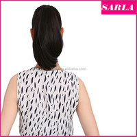 Wholesale P003 Claw clip Ponytail Women Straight Synthetic Ponytails Pony Tail Heat Resistance Synthetic Hair Hairpiece