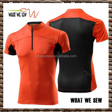 lycra front mesh back breathable mens tight fit gym t-shirts custom sports summer t-shirts
