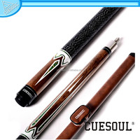 CUESOUL Excellent 1/2 Joint Pool Cue with Canister, amazing quality at unbelievable low price, Cue set for sale