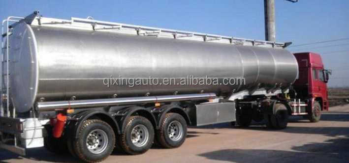 Hot Sale 42cbm 50 Liters Aluminium Alloy Saso Fuel Trailer