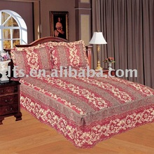 3pcs Polyester Printed Quilted Bedspread Set