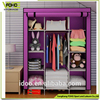 bedroom fabric foldable wardrobe closet, 9 grid and a clothes cabinet portable wardrobe