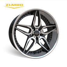 "Zumbo-A0076 Blace face machined+SSL 3sdm alloy wheels rim sizes 22 inch 22"" alloy wheel China as automobile accessories"