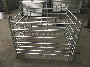 970x1800mm Goat Fence Panel hurdles / Portable Sheep hurdle Panels/2400mm livestock panels/hurdles