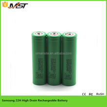 Original 18650 2200mah Samsung ICR18650 22H High capacity high power lithium batteries
