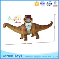 Factory price custom kids funny dinosaur natural rubber baby toys