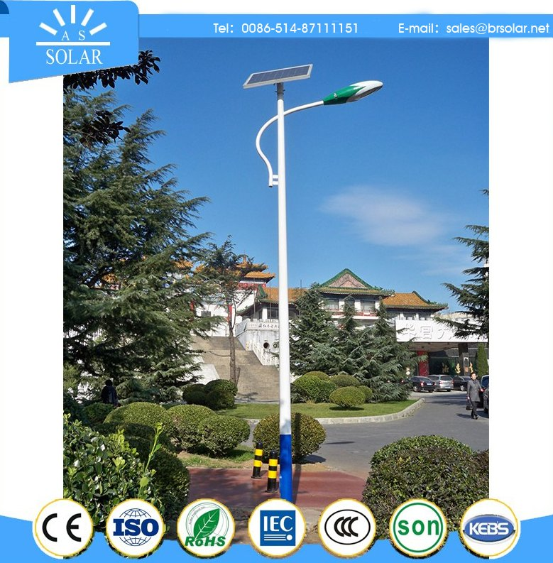 ROHS certificate hign performance 12v solar 30w led street light