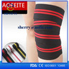 suppliers high quality elastic bandages polyester knee support bandage for sports