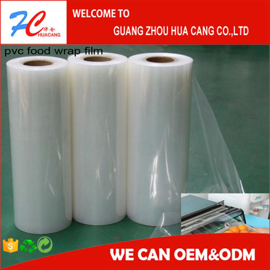 cling film for food wrap fresh wrap pvc cling film food grade plastic wrap