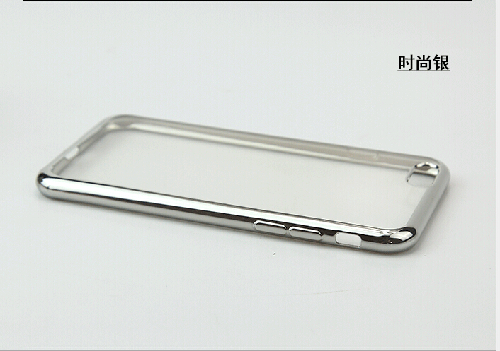High Flexibility High Quality Electroplate TPU Case for iPhone 6 4.7