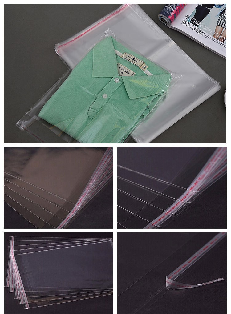 Clear Plastic Bags For Packaging Clothing View Plastic