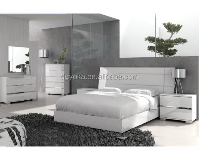 High Gloss Bedroom Furniture Hot Sales