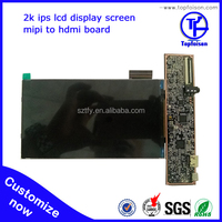 factory supply used 6 inch tft lcd monitor housing is 2560 x1440 lcd screen module