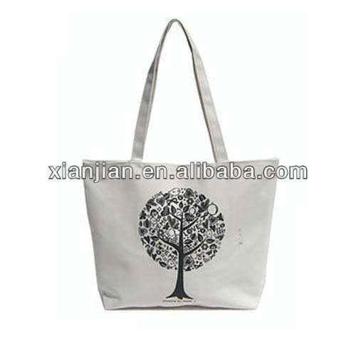 Casual Tote Shopping Bag With The Tree of Life For Girls(BXZZ007)