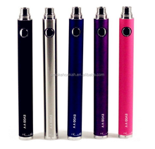 Top sale ego/ evod battery 1300mAh colorful vv battery Twist