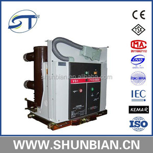 handcart type indoor hv vacuum circuit breaker 12kv vs1-12