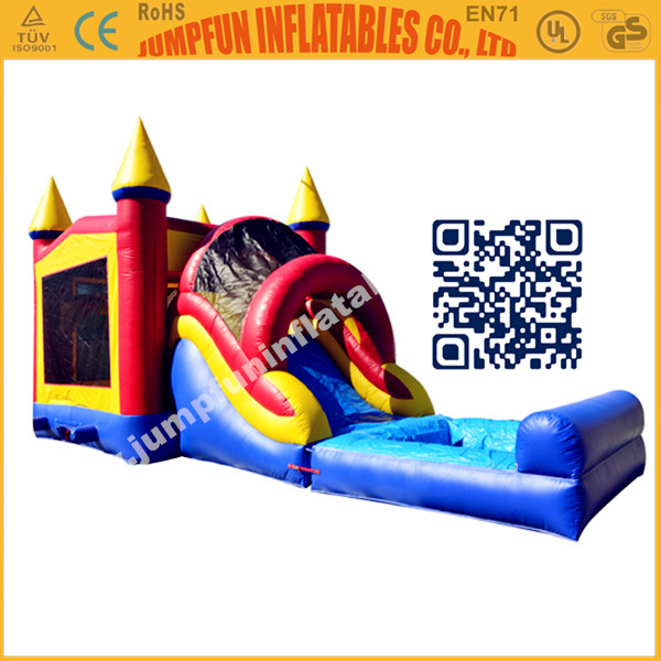 Inflatable Combo and Water Pool & Inflatable PVC Combo & Durable bouncy house