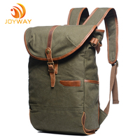 Wholesale Large Capacity Vintage Canvas Backpack Travelling Backpack for boys and girls