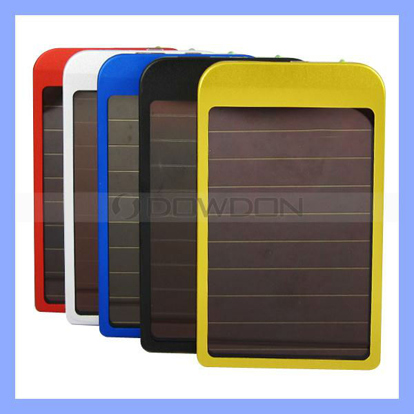 2600mAh Solar Charger Portable Battery Solar Power Charger for Mobile Phone MP3 MP4 PDA