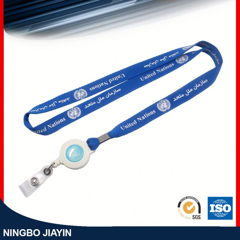 Sample available factory directly id card lanyard neck strap
