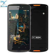 AGM X1 Mini IP68 Waterproof 2GB 16GB 4G Mobile Phone MSM8909 Quad Core 5.0''Android 6.0 8MP OTG 4000mAh SmartPhone No Russian