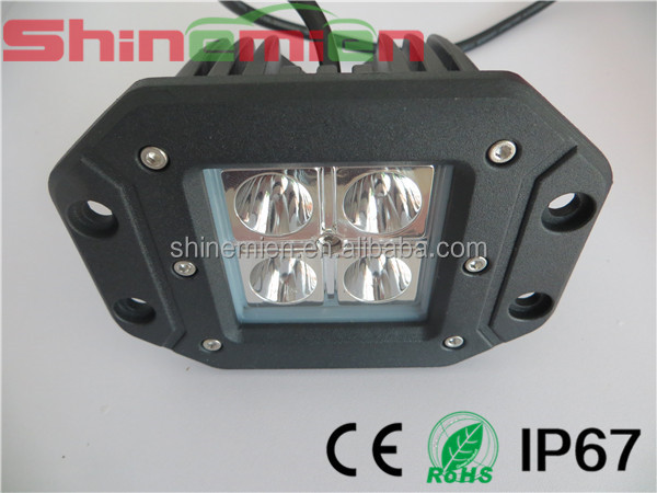 2014 New products! flush mount cree double rows LED light bar/ work light offroad led cree driving head/roof light