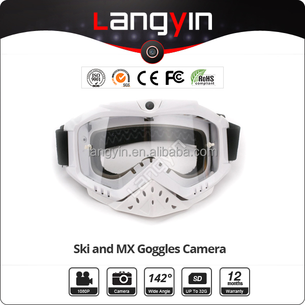 HD 1080P Camera/Video Motocycle Goggles