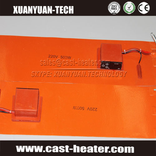 silicone rubber electric heater mat