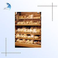 New Design Free Standing Wooden Display Shelf for Promotion