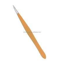 High quality hand tool pointed tip stainless steel tweezers