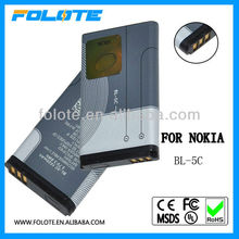 Long life 3610 mobile phone battery for nokia bl-5c