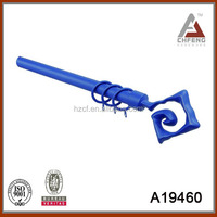 A19460 Spring Rods Curtain/telescopic single curtain pole/curain rod accessory factory made in China Hangzhou