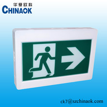 CSA approved ABS LED Running Man Emergency Exit Sign