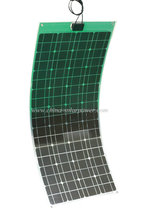 100w 120w semi flexible solar panel solar module made in shenzhen china