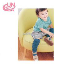 Cute Design Cotton Baby Leg Warmers Kid Toddler Boys Girls Knee Pad Length 30cm