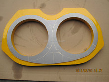 Niigata Concrete Pump Parts Wear plate and Cutting Ring