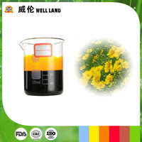 Oil soluble liquid 10-30E chrysanthemum extract yellow pigment