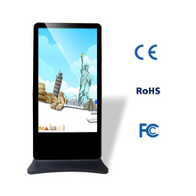 Shenzhen Kerchan 65 Inch Floor Standing Android Advertising Kiosk For Retail/ Indoor &outdoor Interactive photo printing Kiosk