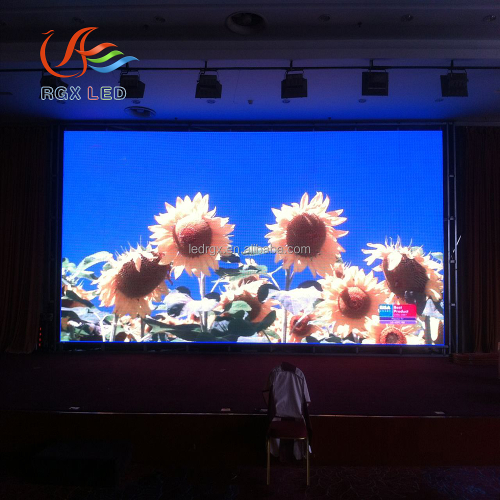 RGX P5 hd super thin led screen video xxx/replacement led lcd tv screens/indoor full color led tv wall screen